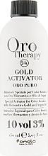 Духи, Парфюмерия, косметика Окислитель с микрочастицами золота 3% - Fanola Oro Gold
