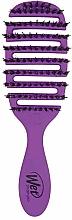 Духи, Парфюмерия, косметика Расческа для блеска волос, фиолетовая - Wet Brush Pro Flex Dry Shine Enhancer Purple