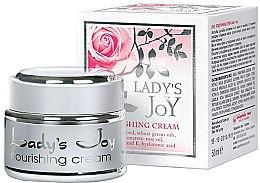 Духи, Парфюмерия, косметика Питательный крем - Bulgarian Rose Lady's Joy Nourishing Face Cream