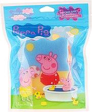 """Духи, Парфюмерия, косметика Мочалка банная детская """"Свинка Пеппа"""", Пеппа с мячом - Suavipiel Peppa Pig Bath Sponge"""