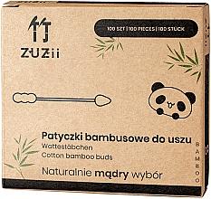 Духи, Парфюмерия, косметика Бамбуковые ватные палочки c разными наконечниками - Zuzii Bamboo Cotton Buds