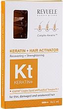 Духи, Парфюмерия, косметика Активатор для волос - Revuele Keratin+ Ampoules Hair Restoration Activator