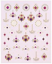 Духи, Парфюмерия, косметика Наклейки для дизайна ногтей - Peggy Sage Decorative Nail Stickers Luxury (1шт)