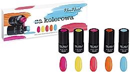 Духи, Парфюмерия, косметика Набор - NeoNail Professional Kolorowa Set (5 х nail/polish/3ml)