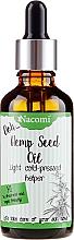 Духи, Парфюмерия, косметика Масло семян конопли с пипеткой - Nacomi Hemp Seed Oil