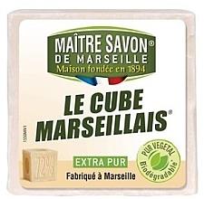 Духи, Парфюмерия, косметика Мыло - Maitre Savon De Marseille Le Cube Marseillais Extra Pur Soap Bar