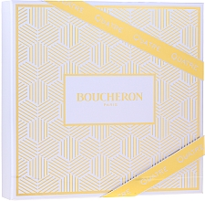 Духи, Парфюмерия, косметика Boucheron Quatre Boucheron Pour Femme - Набор (edp/50ml + b/lot/50ml+ sh/gel/50ml)