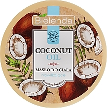 Духи, Парфюмерия, косметика Увлажняющее масло для тела - Bielenda Coconut Oil Moisturizing Body Butter
