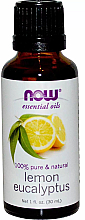 Духи, Парфюмерия, косметика Эфирное масло лимона, эвкалипта - Now Foods Essential Oils 100% Pure Lemon Eucalyptus