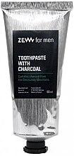 Духи, Парфюмерия, косметика Угольная зубная паста - Zew For Men Toothpaste With Charcoal