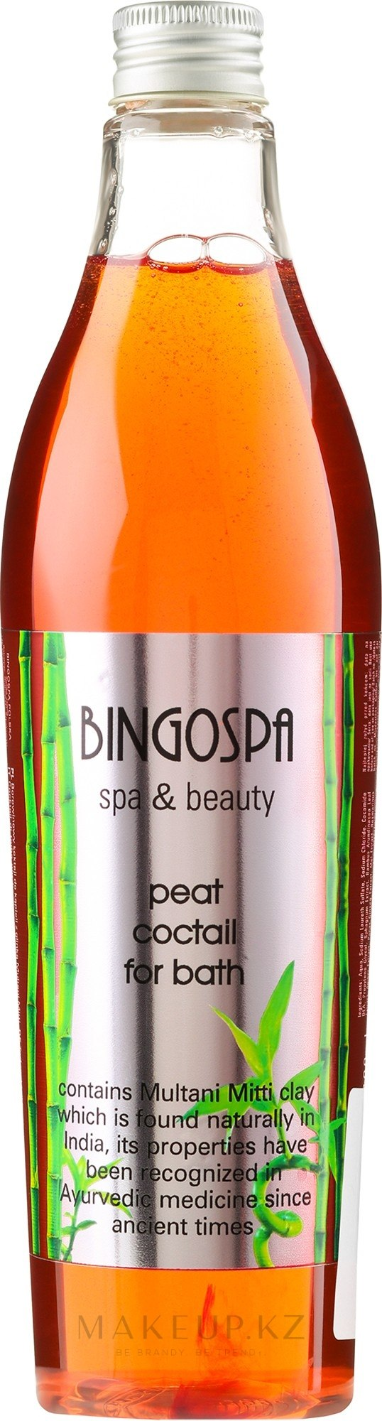 Грязевой коктейль для ванны - BingoSpa Spa & Beauty Peat Coctail For Bath Multani Mitti — фото 400 ml