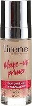 Духи, Парфюмерия, косметика Матирующая база под макияж - Lirene Make-Up Primer Rose