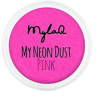 Пудра для ногтей - MylaQ My Neon Dust — фото N1