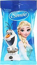 """Духи, Парфюмерия, косметика Влажные салфетки """"Frozen"""", 15шт, Олаф и Эльза - Smile Ukraine Disney"""