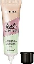 Духи, Парфюмерия, косметика Праймер для лица - Rimmel Insta CC Primer Colour Correcting