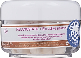 Духи, Парфюмерия, косметика Осветляющая биоактивная пудра для лица - Charmine Rose Melanostatic + Bio Active Powder