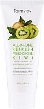 Духи, Парфюмерия, косметика Пилинг-скатка для лица с киви - FarmStay All-In-One Refresh Peeling Gel Kiwi