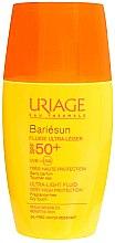 Духи, Парфюмерия, косметика Солнцезащитный флюид крем для лица - Uriage Bariesun Ultra-Light Fluid SPF50+