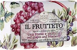"""Духи, Парфюмерия, косметика Мыло """"красный виноград и черника"""" - Nesti Dante Il Frutteto"""