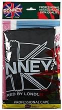 Духи, Парфюмерия, косметика Парикмахерская накидка, универсальный размер, чёрный - Ronney Professional Hairdressing Cape One Size