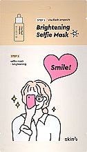 Духи, Парфюмерия, косметика Двухфазная осветляющая маска для лица - Skin79 Brightening Selfie Mask