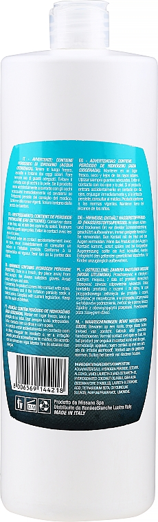 Оксидант перекиси водорода 40vol 12% - H.Zone Option Oxy — фото N2