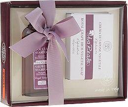 Духи, Парфюмерия, косметика Набор - Erbario Toscano Royal Grape (shmp/125ml + soap/140g)