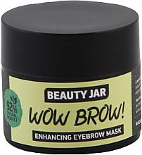 Духи, Парфюмерия, косметика Маска для роста бровей - Beauty Jar Wow Brow! Enhancing Eyebrow Mask