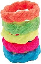 Духи, Парфюмерия, косметика Набор разноцветных резинок для волос, 5 шт - IDC Institute Design Hair Bands Pack