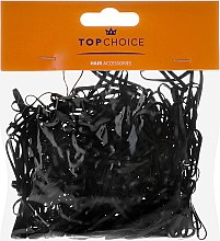 """Духи, Парфюмерия, косметика Резиночки для волос мини """"XS"""" 200шт, черные - Top choice"""