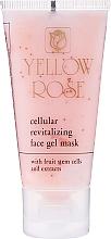 Духи, Парфюмерия, косметика Клеточная тонизирующая гель-маска со стволовыми клетками (туба) - Yellow Rose Cellular Revitalizing Gel Mask