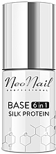 Духи, Парфюмерия, косметика Базовое покрытие для гель-лака 6 в 1 - NeoNail Professional Base 6in1 Silk Protein