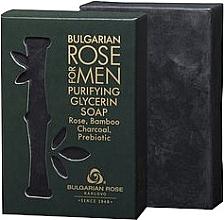Духи, Парфюмерия, косметика Глицериновое мыло - Bulgarian Rose For Men Purifying Glycerin Soap
