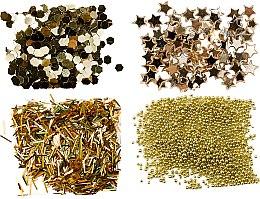 Духи, Парфюмерия, косметика Набор глиттеров, золото - Peggy Sage Nail Glitter Mini Kit Or
