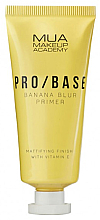Духи, Парфюмерия, косметика Матирующий праймер для лица с ароматом банана - Mua Pro/ Base Banana Blur Primer