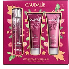Духи, Парфюмерия, косметика Набор - Caudalie The Des Vignes Scented Trio (edp/50ml + sh/gel/50ml + b/lot/50ml)
