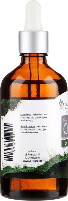 Масло спирулины - E-Flore Natural Oil — фото N4