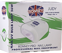 Духи, Парфюмерия, косметика Лампа для ногтей UV, красная - Ronney Profesional Judy UV 36W (GY-UV-230) Lamp