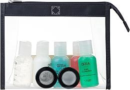 Духи, Парфюмерия, косметика Набор - Ofra Skin Care Kit Normal (cleanser/30ml + f/ton/30ml + eye/remover/30ml + f/cr/30ml + eye/gel/30ml + f/peel/7ml + f/mask/7ml + bag)