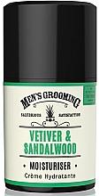 Духи, Парфюмерия, косметика Увлажняющий крем для лица для мужчин - Scottish Fine Soaps Vetiver & Sandalwood Moisturiser
