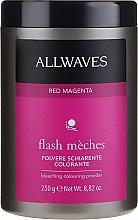 Духи, Парфюмерия, косметика Оттеночная осветляющая пудра - Allwaves Flash Maches Bleaching Colouring Powder