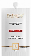 Духи, Парфюмерия, косметика Крем для лица дневной - BioDermic Caviar Extract Day Cream (мини)