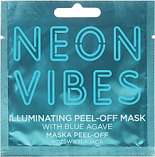 Духи, Парфюмерия, косметика Маска для лица - Marion Neon Vibes Illuminating Peel-Off Mask