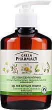 Духи, Парфюмерия, косметика Гель для интимной гигиены с экстрактом календулы и чайного дерева - Green Pharmacy