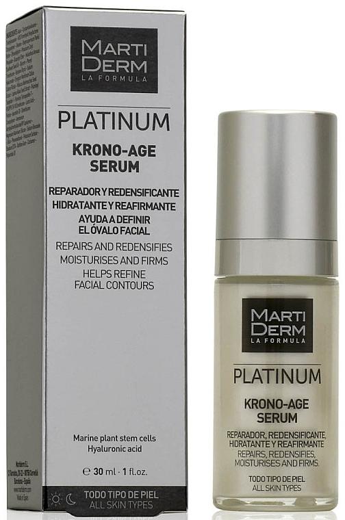 Сыворотка для лица против старения - MartiDerm Platinum Krono-Age Serum — фото N1