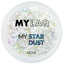 Духи, Парфюмерия, косметика Пыльца для ногтей - MylaQ My Star Dust