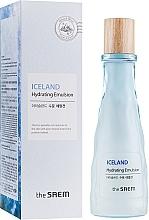 Духи, Парфюмерия, косметика Минеральная увлажняющая эмульсия - The Saem Iceland Hydrating Emulsion
