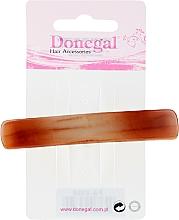 Духи, Парфюмерия, косметика Заколка-автомат, коричневая - Donegal Automatic Hair Clip Barrette