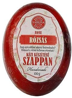 "Мыло ручной работы ""Роза"" - Yamuna Rose Handmade Glycerin Soap — фото N1"