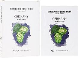"Духи, Парфюмерия, косметика Тканевая маска ""Германия"" - Calluna Medica Germany Sebum Control Biocellulose Facial Mask"